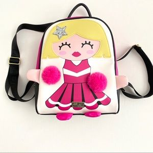 Betsey Johnson LBMINDY CHEERLEADER Backpack NWT